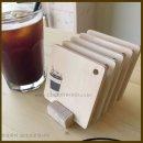 자작나무 커피잔 5종 세트