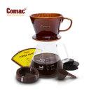 Comac 자기커피드립세트 800ml - DN6  커피필터/커피드리퍼/유리포트/핸드드립/드립커피/드립용품/커피...
