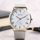 KEVIN 명품 남성 손목시계 큰 원형  커플 선물 브랜드
