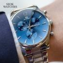 석와치스 브랜드 패션 남자학생 가죽메탈 손목 시계