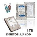 컴퓨터 하드디스크 1TB 중고 HDD PC용 하드 3.5인치
