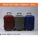 메이플 트래드패턴 PC하드캐리어/와인(20형)/여행가방
