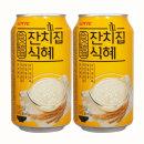 잔치집식혜340mlx24캔/식혜/캔음료/음료/음료수