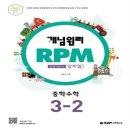 개념원리 RPM 중학수학 3-2 (2020년)