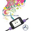산돌 CS62A  2-포트 PS/2 VGA/오디오 케이블 KVM