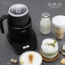 BRK 전동 우유 거품기 스팀기