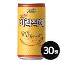 캔음료 팔도 밥알없는 비락식혜 175ml (30캔)