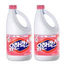 유한양행 유한락스 살균소독 후로랄 2L+2L