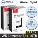 공식판매원WD 3.5 ULTRASTAR SATA Series 10TB 2PACK A