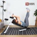 반석스포츠  비스펙 싯업벤치/복근운동기구/헬스기구/윗몸일으키기/싯업