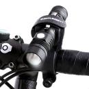 AM1충전식 XP-L V6 LED 자전거라이트 전조등 USB