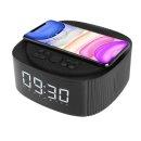 (UM2) UM2 무선 충전 불루투스 스피커 UMWHBT10 스마트폰 충전 무소음 탁상용 시계