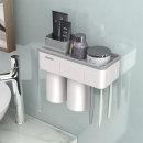 욕실선반 칫솔꽂이 거치대 (menen자석칫솔걸이 2구)