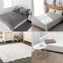 백화점판매/순면100% 목화솜충전 면카페트/거실/침대