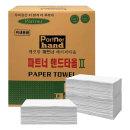 파트너 흰색 2겹 핸드타올 4300매 한박스 DS17