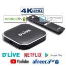 딜라이브 UHD H5 플러스 TV셋톱박스 유튜브 넷플릭스