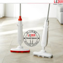 LZC-T1010-(레드) 핸디 스틱형 나노 스팀 청소기