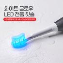 덴티럽 LED 전동칫솔1개 음파 자동 칫솔 미백치약증정