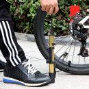 스포티 자전거 에어펌프/휴대용 탈부착 공기주입기