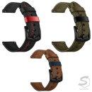 수나르  갤럭시기어S3 프론티어 46mm 포인트 라인 컬러 모던 레더 가죽 밴드 시계줄