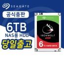 씨게이트 아이언울프 6TB ST6000VN001 나스용 HDD