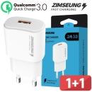 짐승 가정용 초고속 3.0 USB 충전기 어댑터 2개