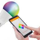 오스람 LED 9W 스마트전구 와이파이/ 색변환/ 밝기조