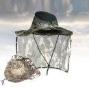 넥커버 밀리터리 모자 여름모자 사파리 망사 낚시모자