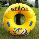 원형 손잡이튜브(노랑)(120cm) /물놀이튜브