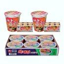 농심 육개장사발면6개+백제쌀국수 김치맛(미니컵)12개