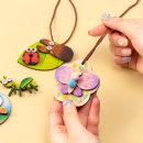 우드 곤충 목걸이 만들기 DIY 꾸미기 미술 놀이
