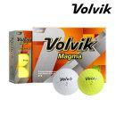 볼빅 MAGMA 12개 마그마 3피스 컬러볼 골프공 골프볼