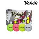 볼빅 VIVID-SOFT (12개) 비비드 무광 컬러볼 골프공