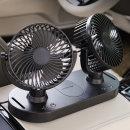 풍잘 차량용 선풍기 카팬 자동차 서큘레이터 자동회전