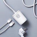 프리어블탭 USB 충전 휴대용 멀티탭 0.6m