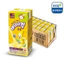 (무료택배) 바나나킥 우유 190ml x 24개입 (멸균/음료
