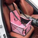 위드펫 강아지 차량용 애완견시트 카시트(핑크)