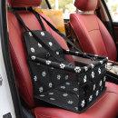 위드펫 강아지 차량용 애완견시트 카시트(패턴블랙)
