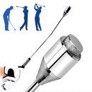 더블 골프 스윙연습기 골프용품 자세교정 골프채