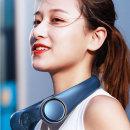 넥밴드 휴대용 선풍기 목걸이 캠핑용 미니 Z6 네이비