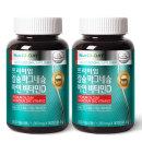 프리미엄 칼슘 마그네슘 아연 비타민D 2병 총180정