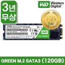 웨스턴디지털 WD GREEN M.2 2280 SATA3 SSD (120GB)