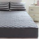 (바숨) 순면누빔 침대 매트리스커버 슈퍼라지킹(SLK) 200x200