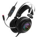 앱코 N550 초경량 게이밍 헤드셋 블랙