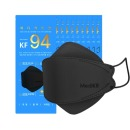 KF94 국내생산 100매 황사마스크 블랙 (10매입x10팩)