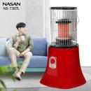 나산 세라믹 황토보빈 원적외선 전기난로 히터 NS7307L