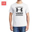 언더아머  GL 파운데이션 반팔티 남자 스포츠 여름 티셔츠 1326849-100