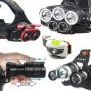 종합-LED 헤드랜턴 후레쉬 18650 충전기 충전지