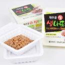 푸르젠  국산 제주콩으로 만든 생나또(낫또)(다시마간장소스+야채토핑) 6세트 (51g 총
