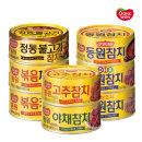 동원참치 살코기 150g 골라담기 /고추참치 야채참치